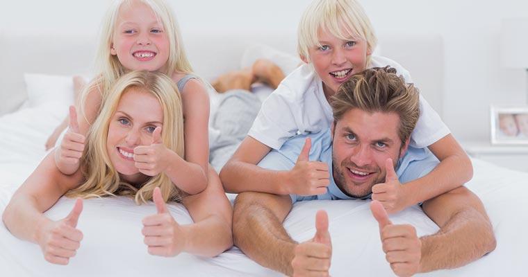 Kampagne moskus dyne fra Ringsted Dun, passer til hele familien